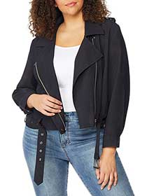 Cropped Biker Jacket - Rebel Wilson X Angels