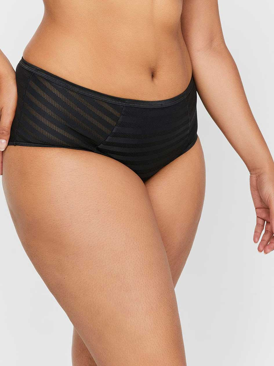 Basic Shadow Stripe Full Brief