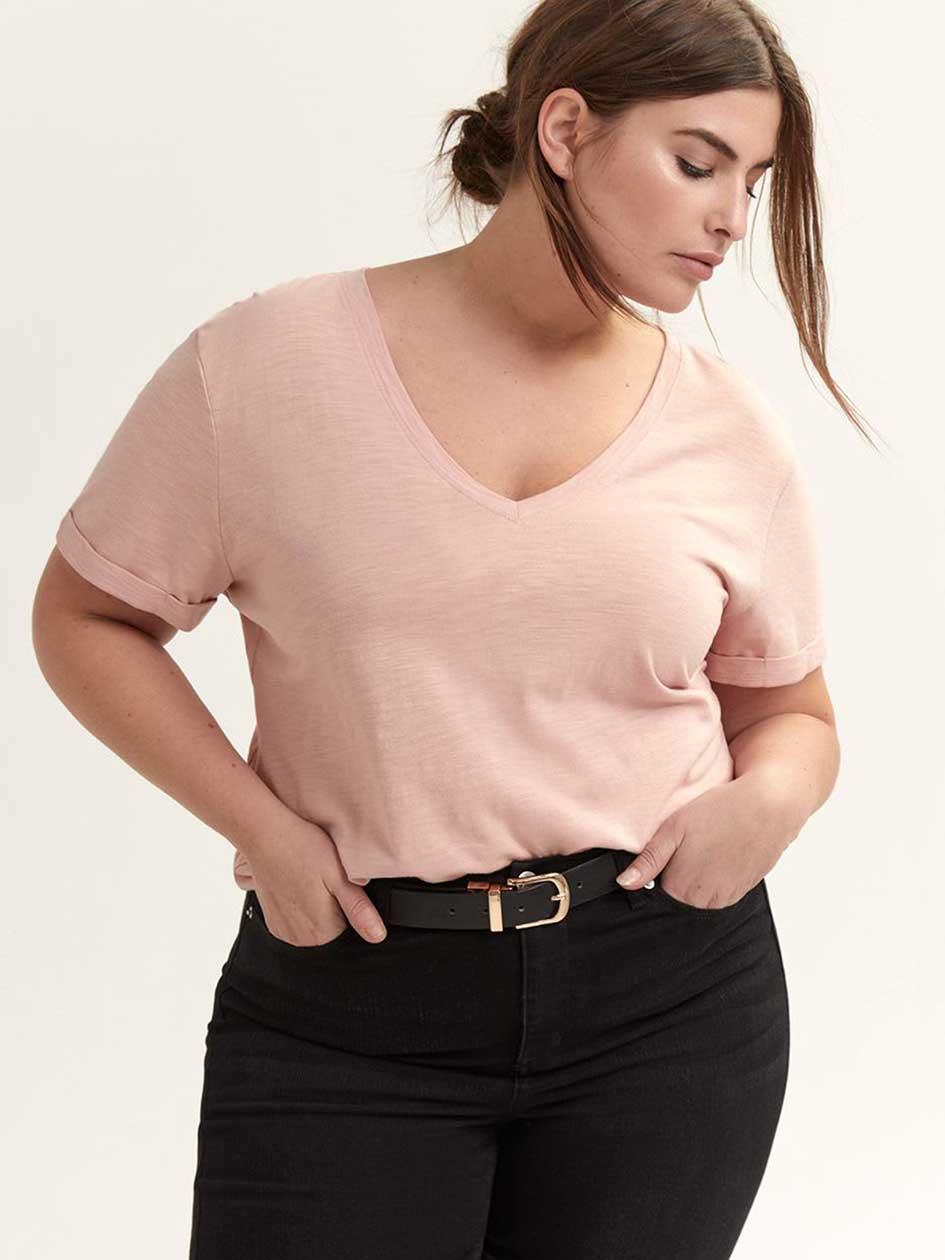aceac0f5a Women's Plus Size Tees & T-shirts | Addition Elle