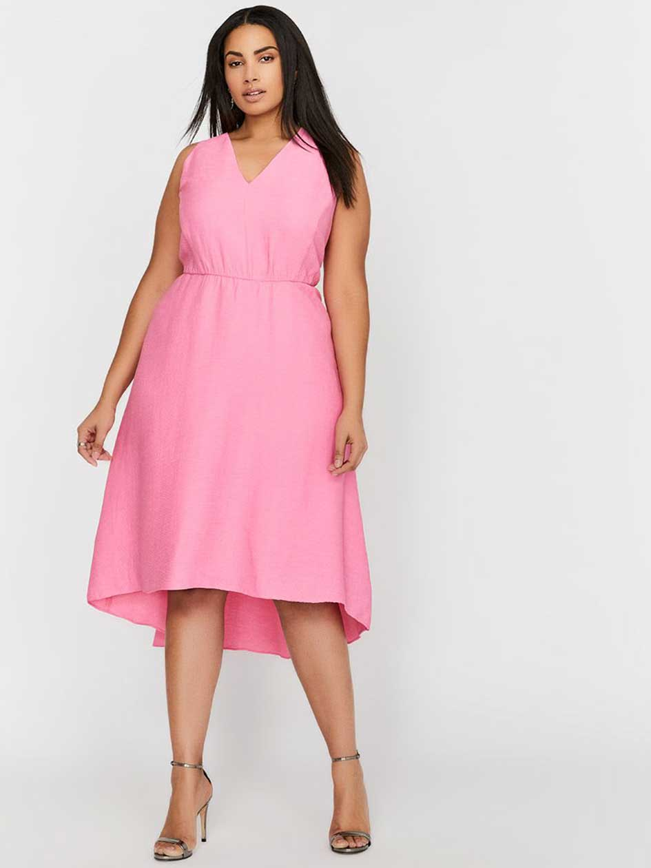 Rachel Roy Sleeveless Fit & Flare Ruffle Dress