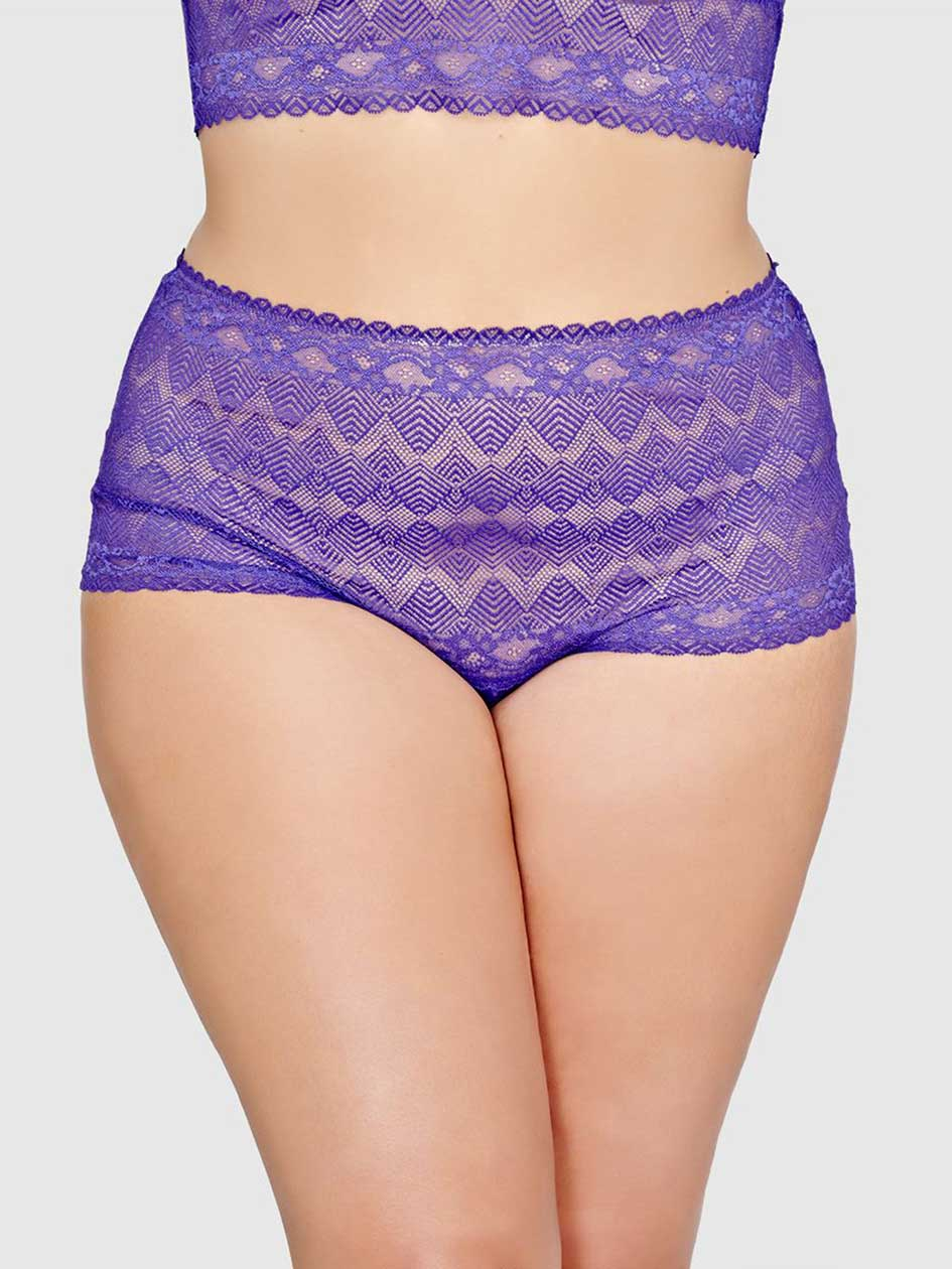 Ashley Graham Lace Thong Panty