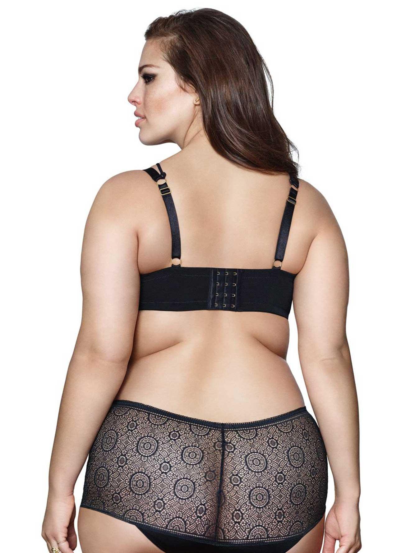 6ac7d45a1ce Ashley Graham - Lace Boy Short Panty | Addition Elle