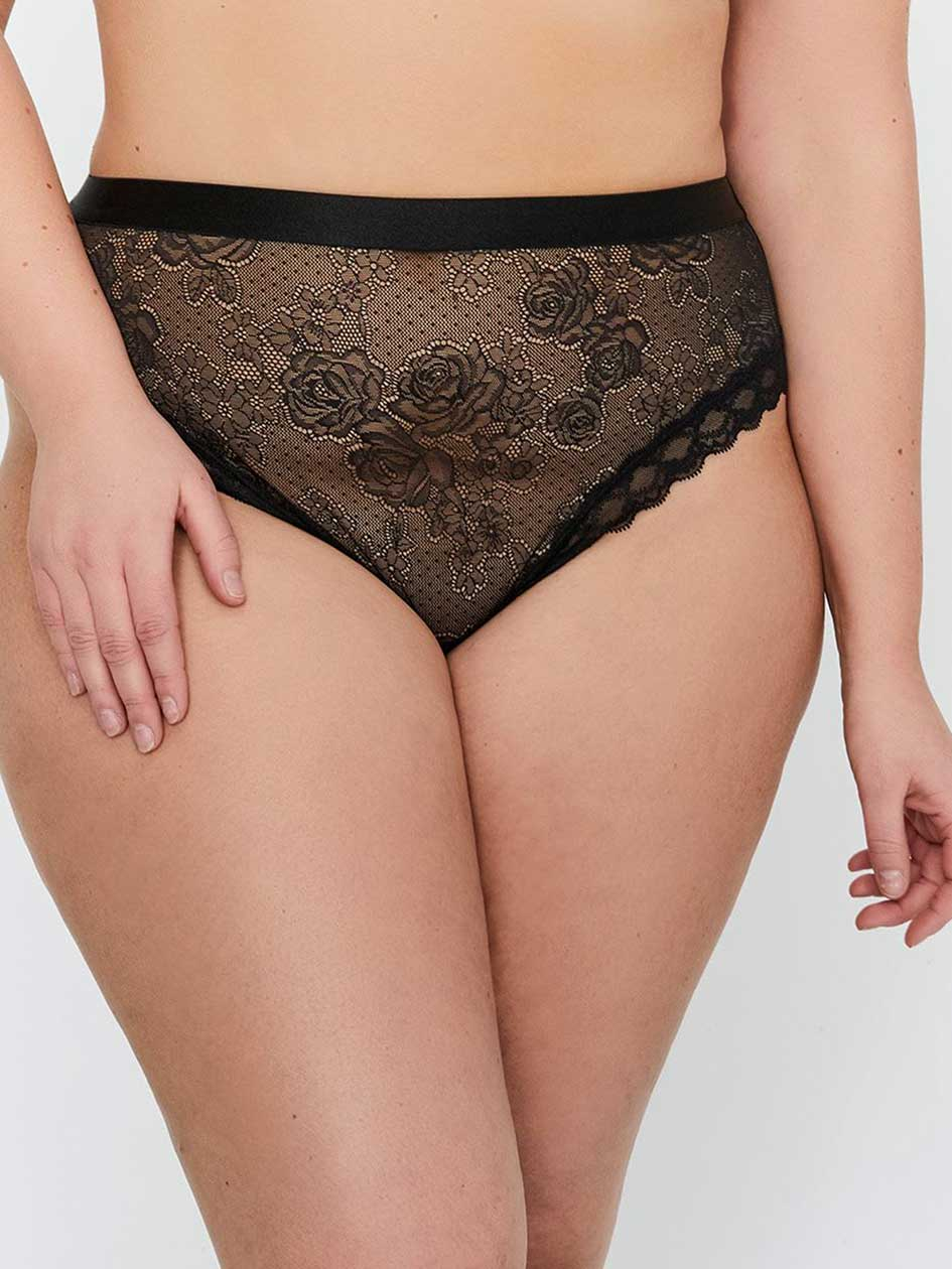 High Cut Panty with Lace