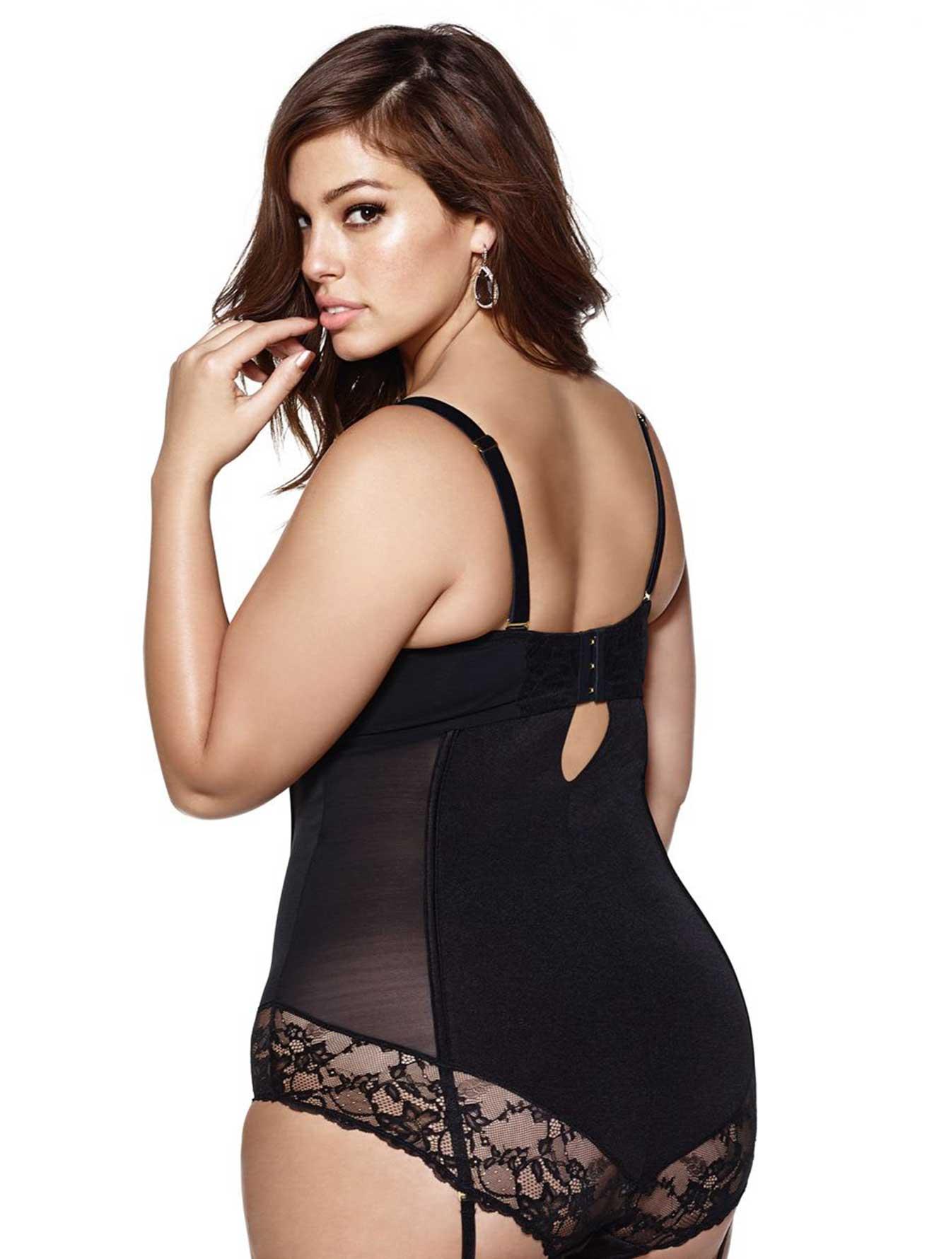 a9ba9dd648580 Ashley Graham - Underwire Bodysuit | Addition Elle