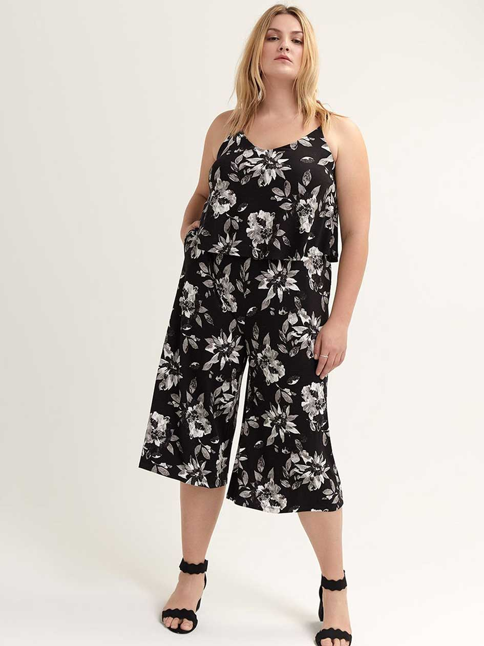 Womens Plus Size Jumpsuits Rompers Addition Elle Canada