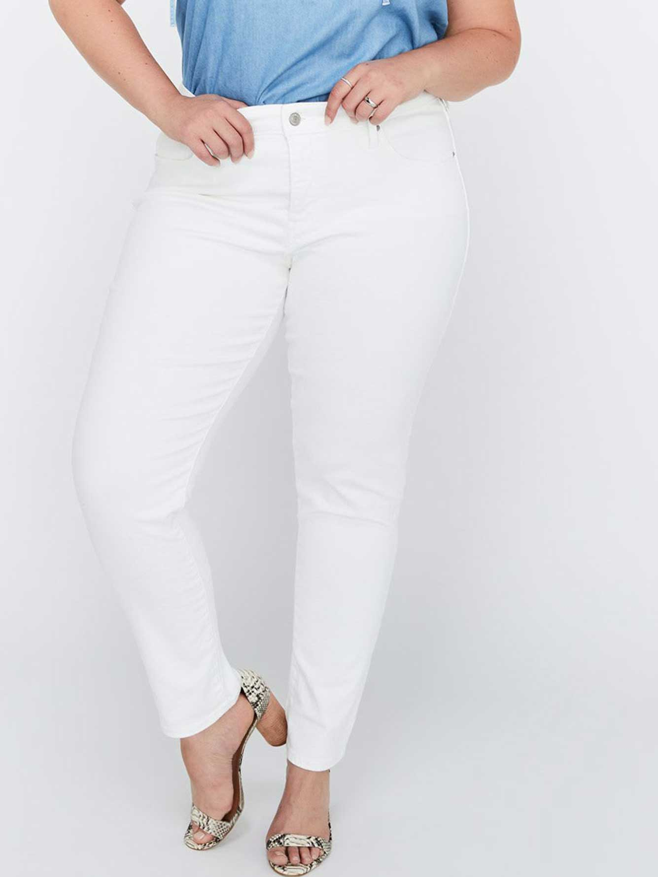 311 Shaping Skinny Soft Clean White Denim - Levi's