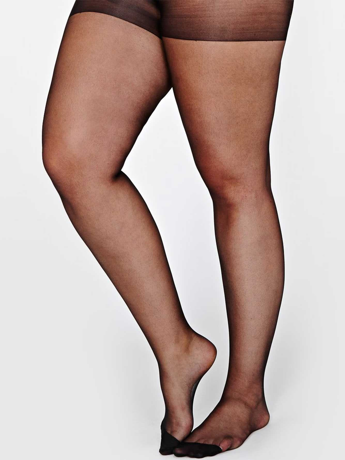 6d63c29883dfc Silky Sheer Pantyhose | Addition Elle