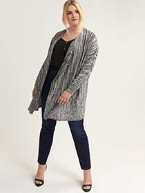 Loose-Fit Cardigan - Michel Studio