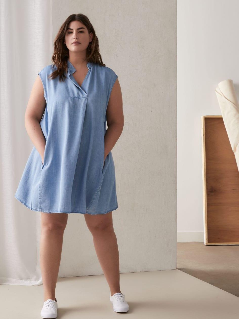 9e2c0e2b54ecd Chambray Harper Dress - RACHEL Rachel Roy