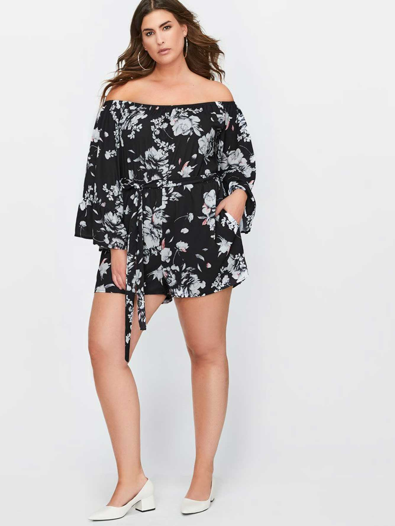 f8b464720a1 City Chic Flower Time Playsuit