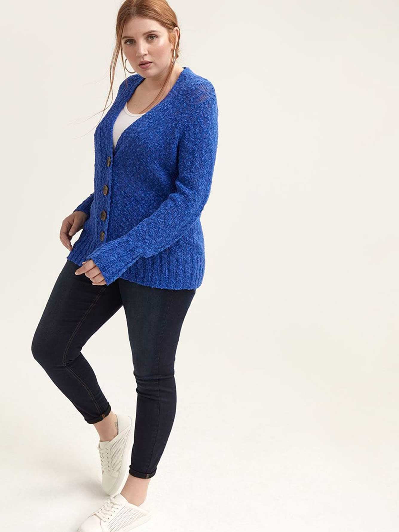 V-Neck Duster Cardigan - L&L