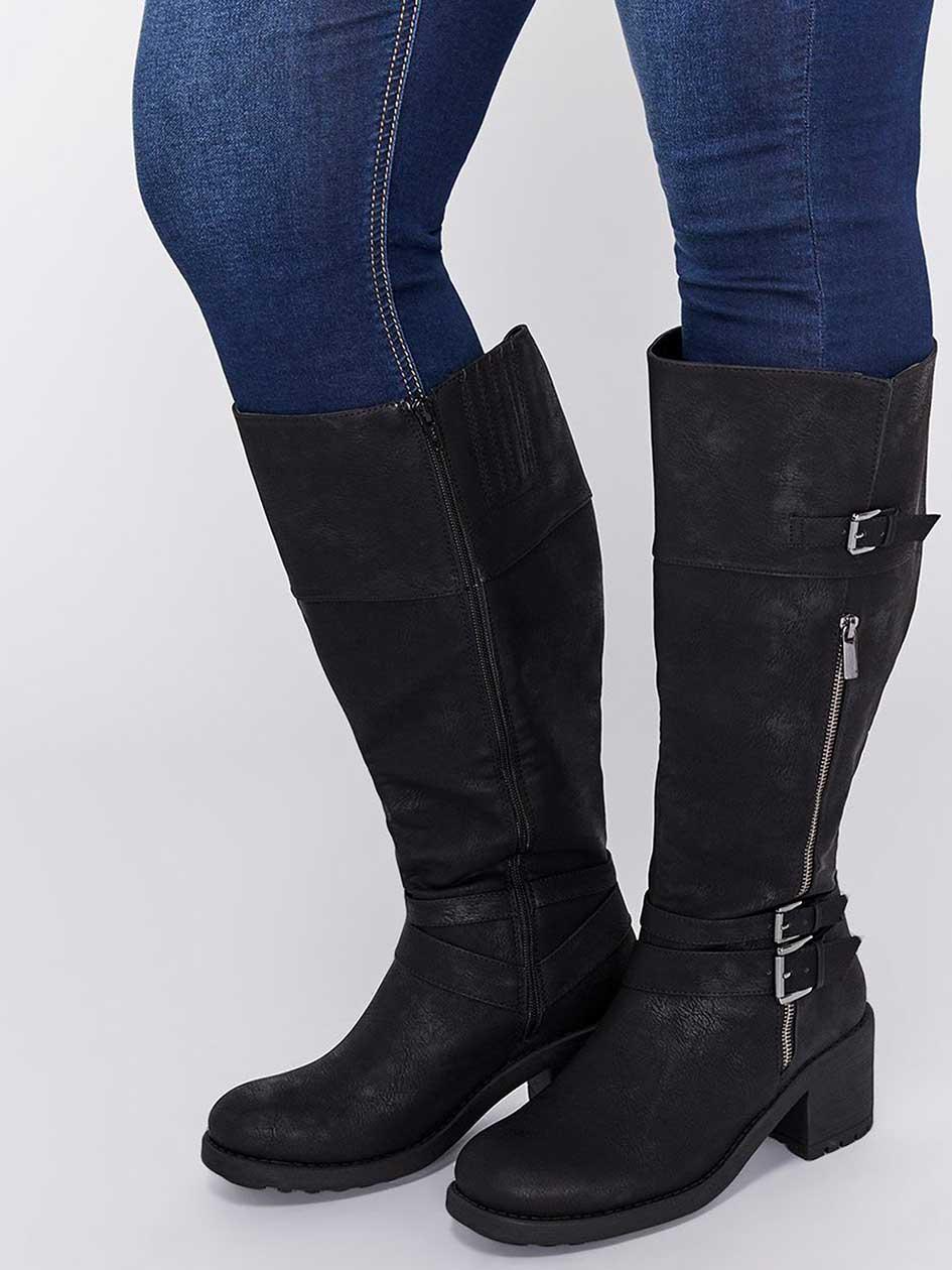 601511d39d2c46 Bottes pour femmes pieds larges   Addition Elle Canada