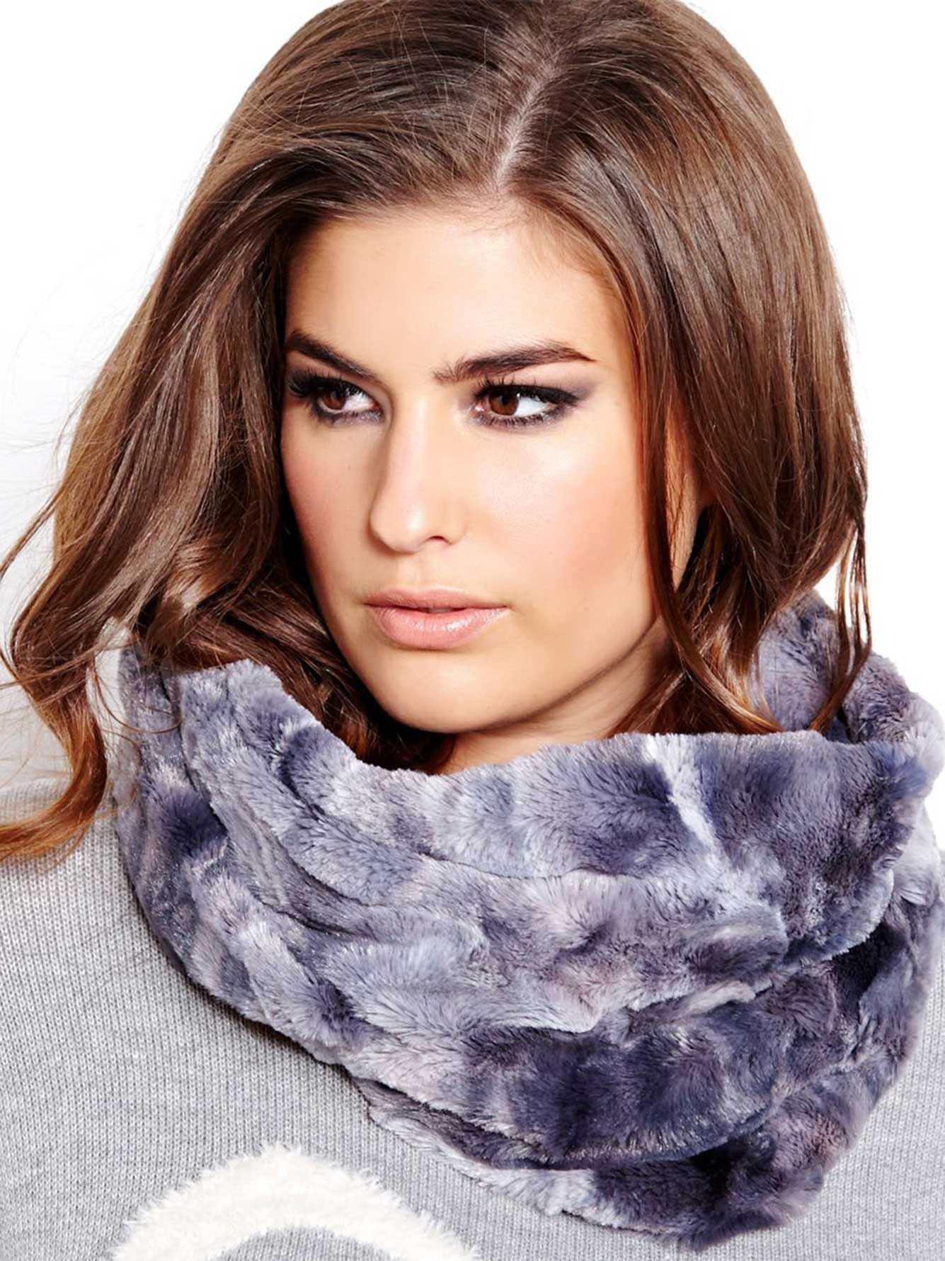 scarf zq whole women fur infinity in nordstrom particular shrug badgley faux stole shawl collar mischka stunning