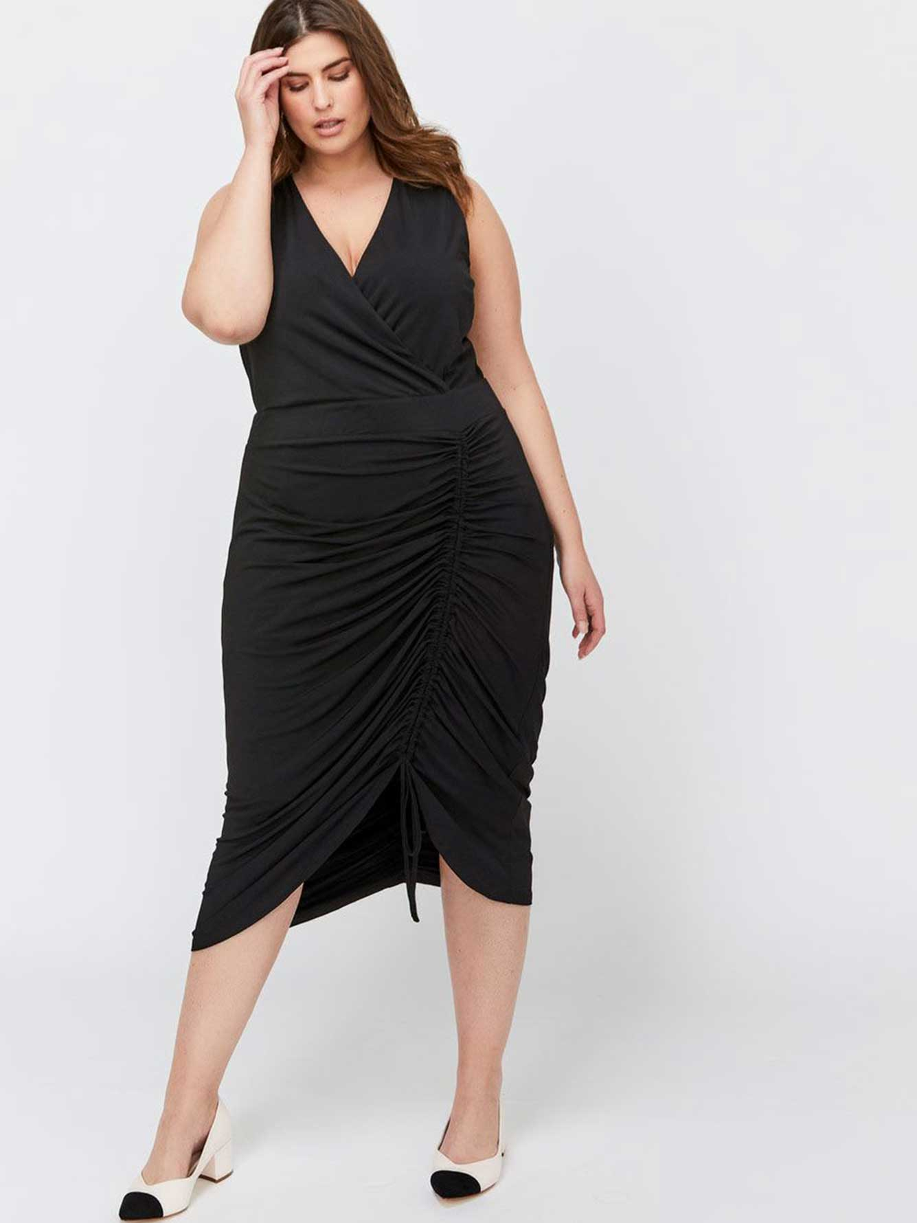 919bccc8497 City Chic Fitted Ruched Dress   Addition Elle