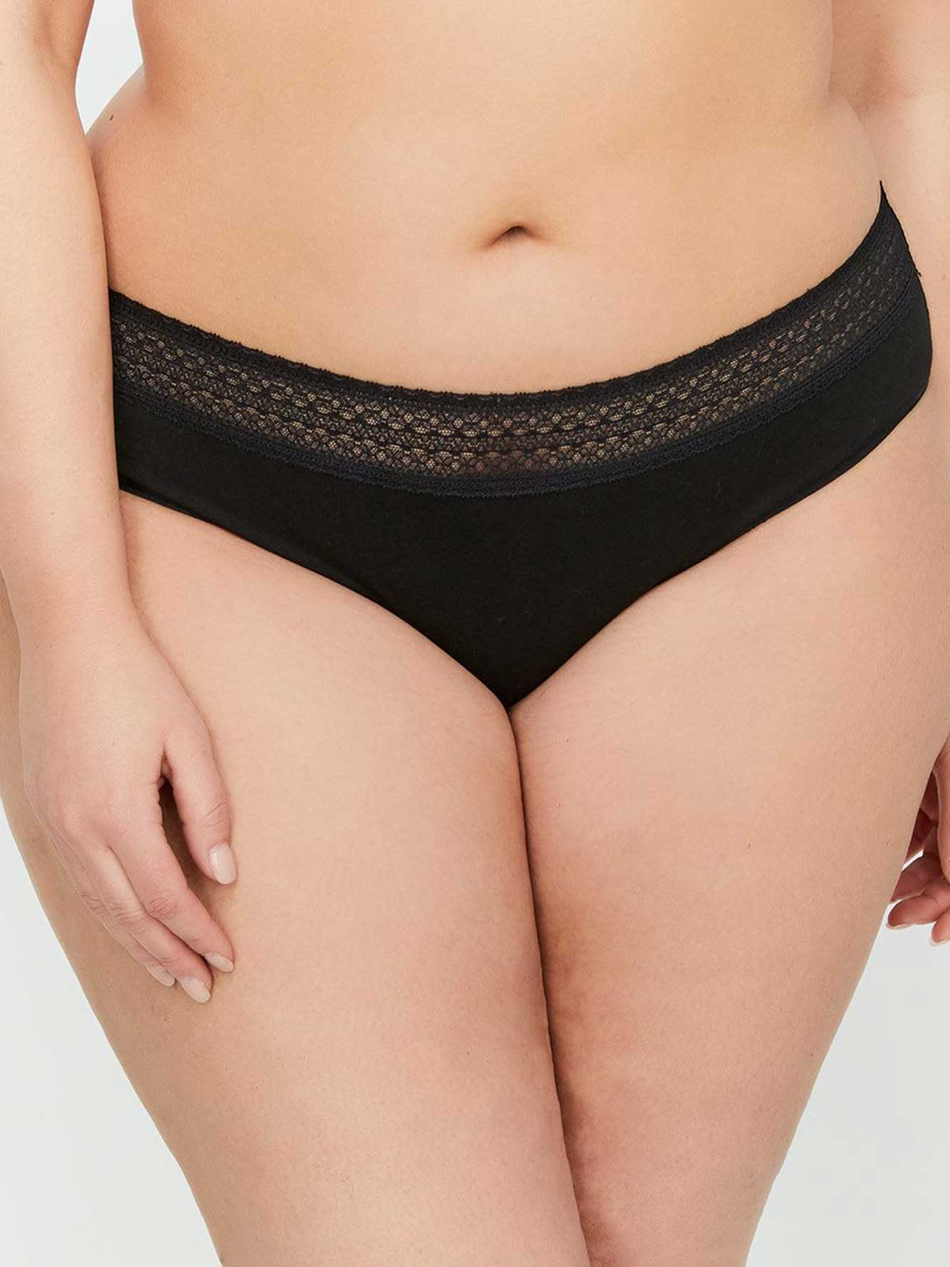 b86ad1d2c Hipster Panty With Lace - Déesse Collection