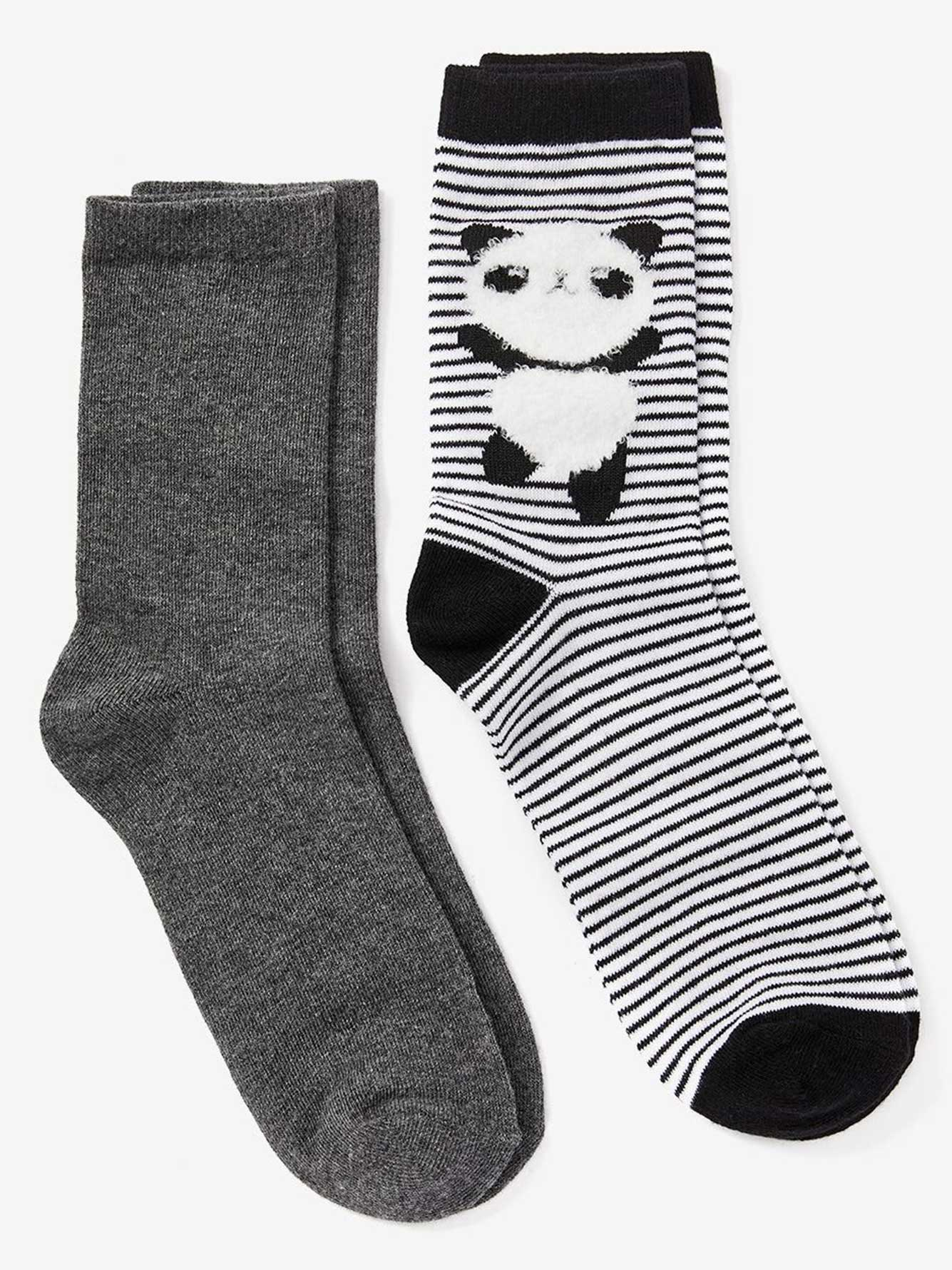 Set of 2 Fashion Socks