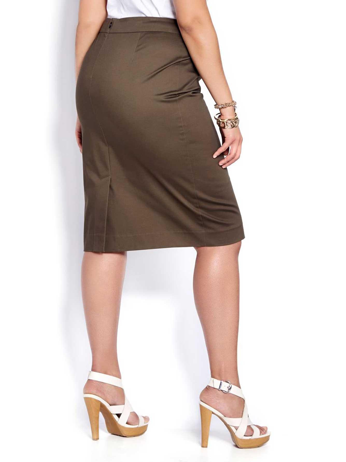 764379e39 L&L Pencil Skirt | Addition Elle