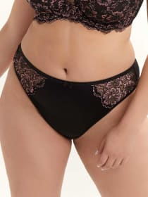Thong with Lace - Déesse Collection