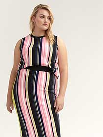 Striped Taryn Top - RACHEL Rachel Roy