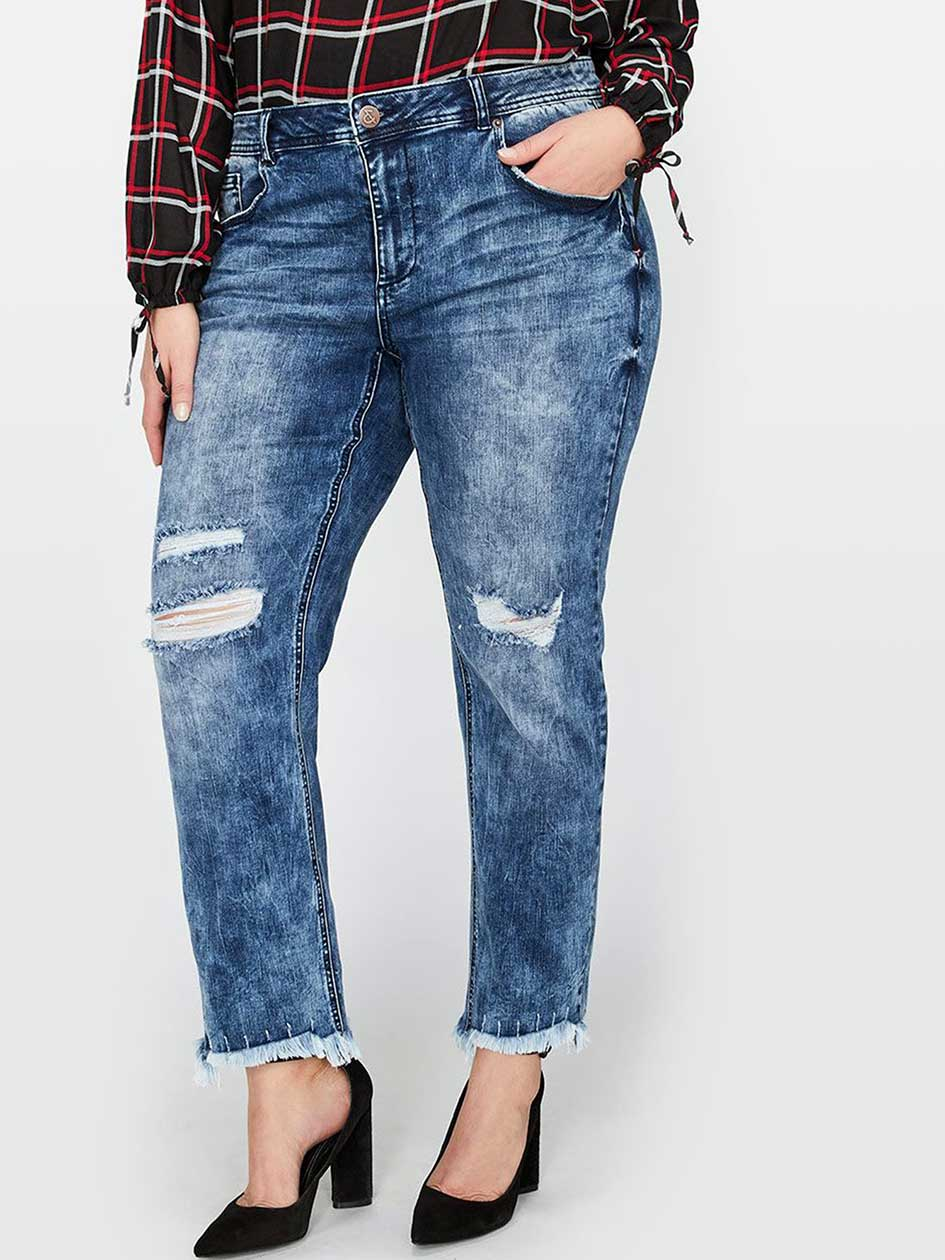 L&L Authentic Slim Jean, Relaxed Fit