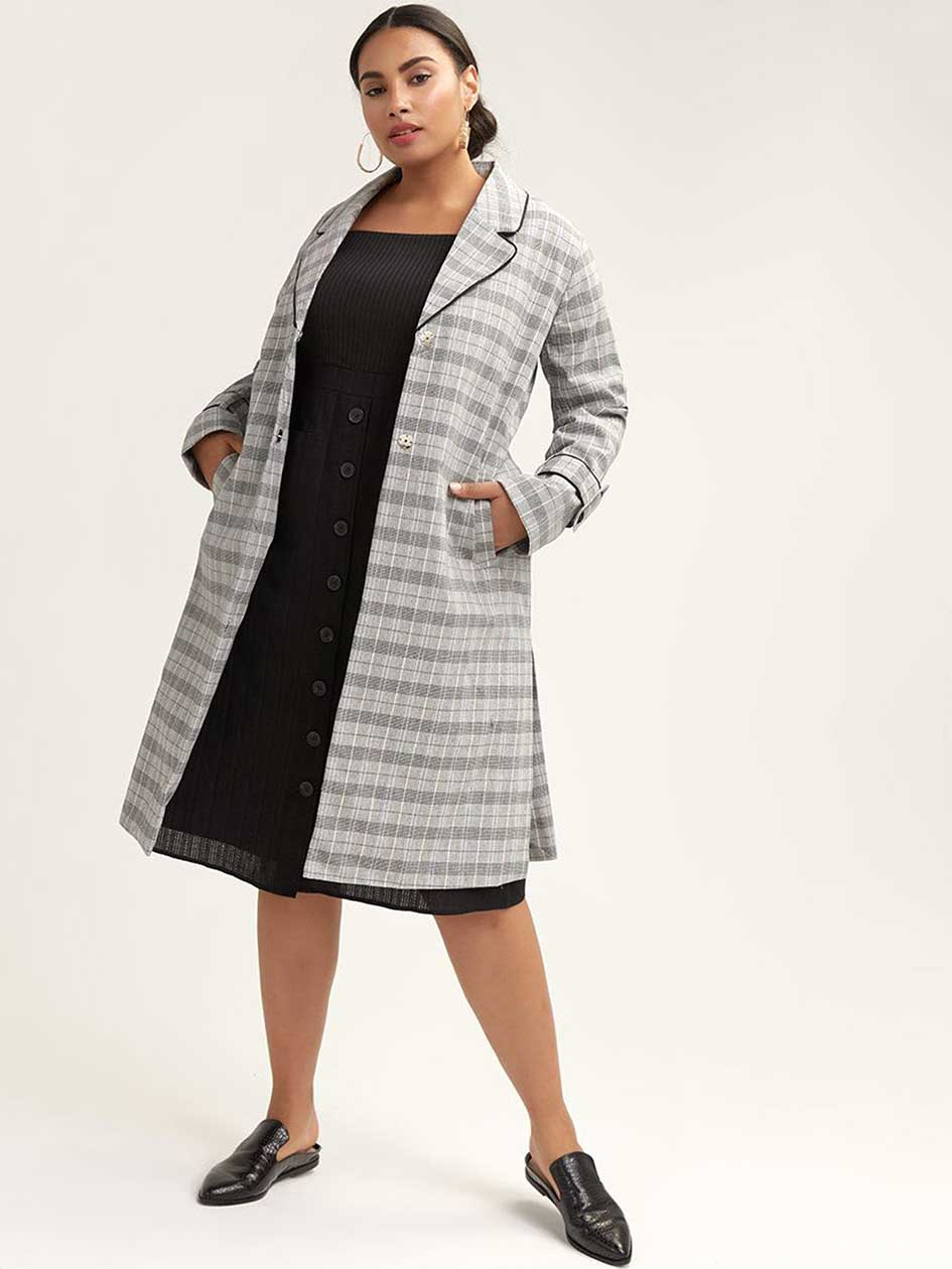 26bb3aa3fc31 Women's Plus Size Coats, Jackets & Outerwear | Addition Elle