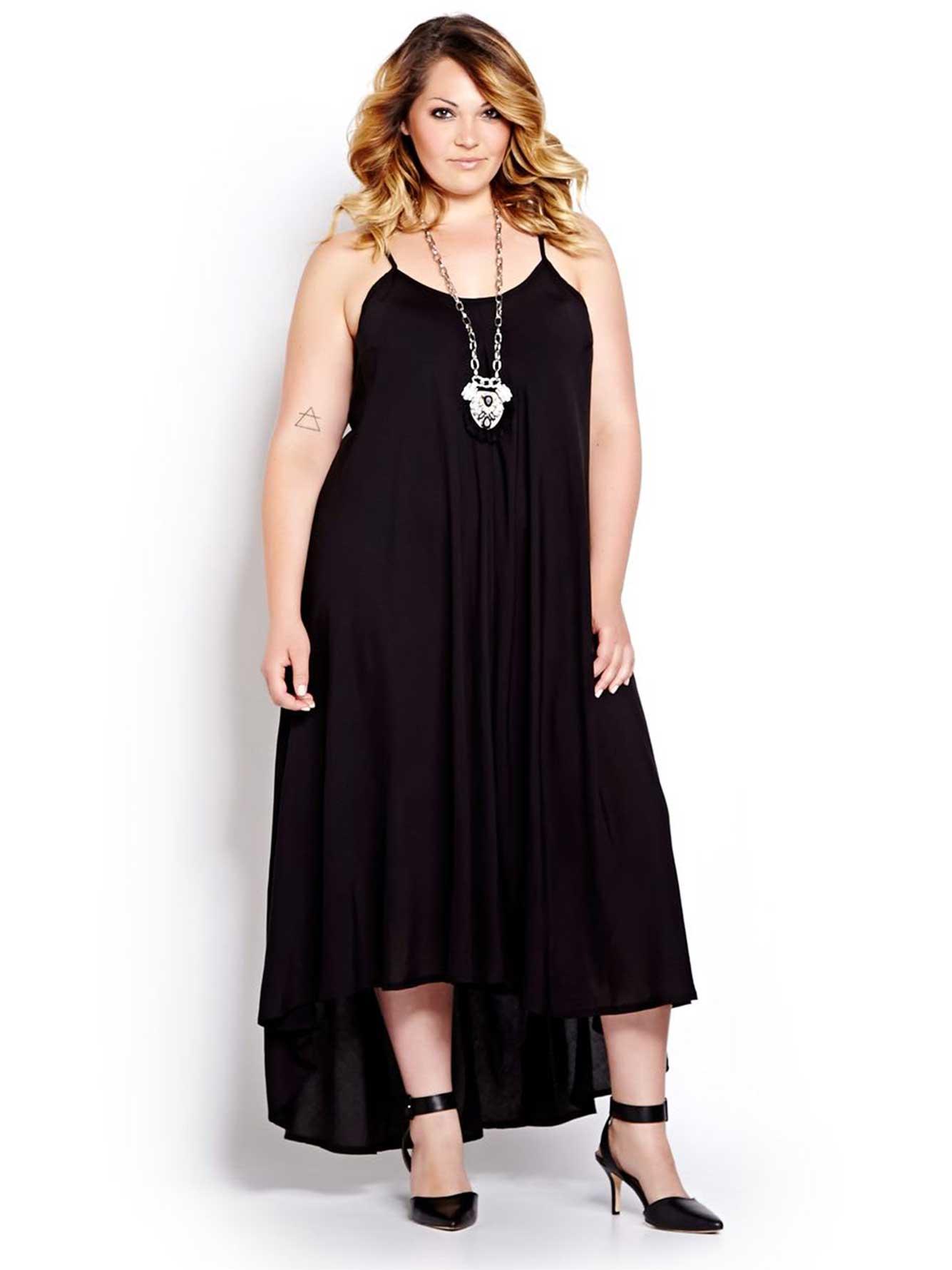 High Low Sleeveless Maxi Dress  3a24b5634