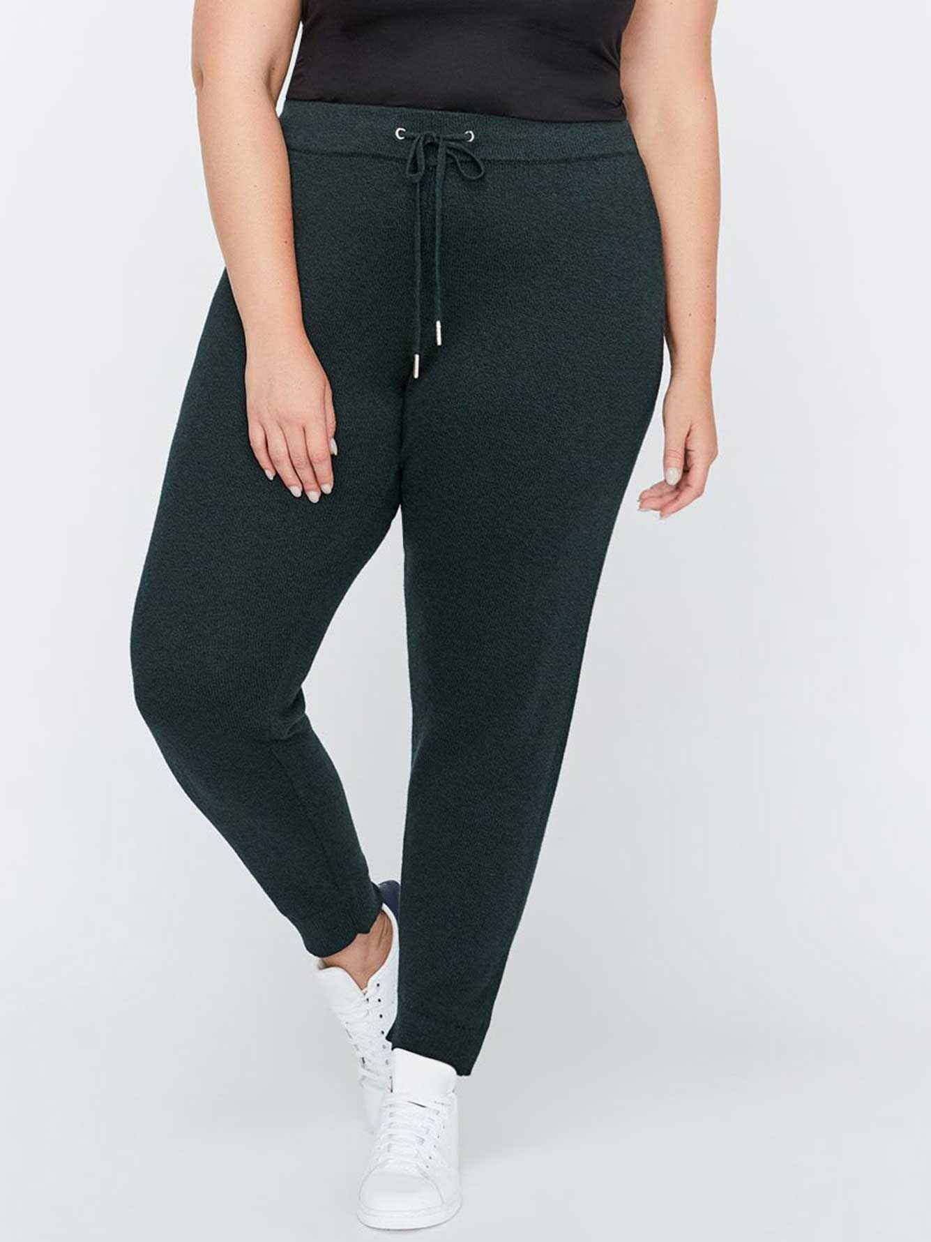 Tapered Pant with Ribbed Cuff - L&L