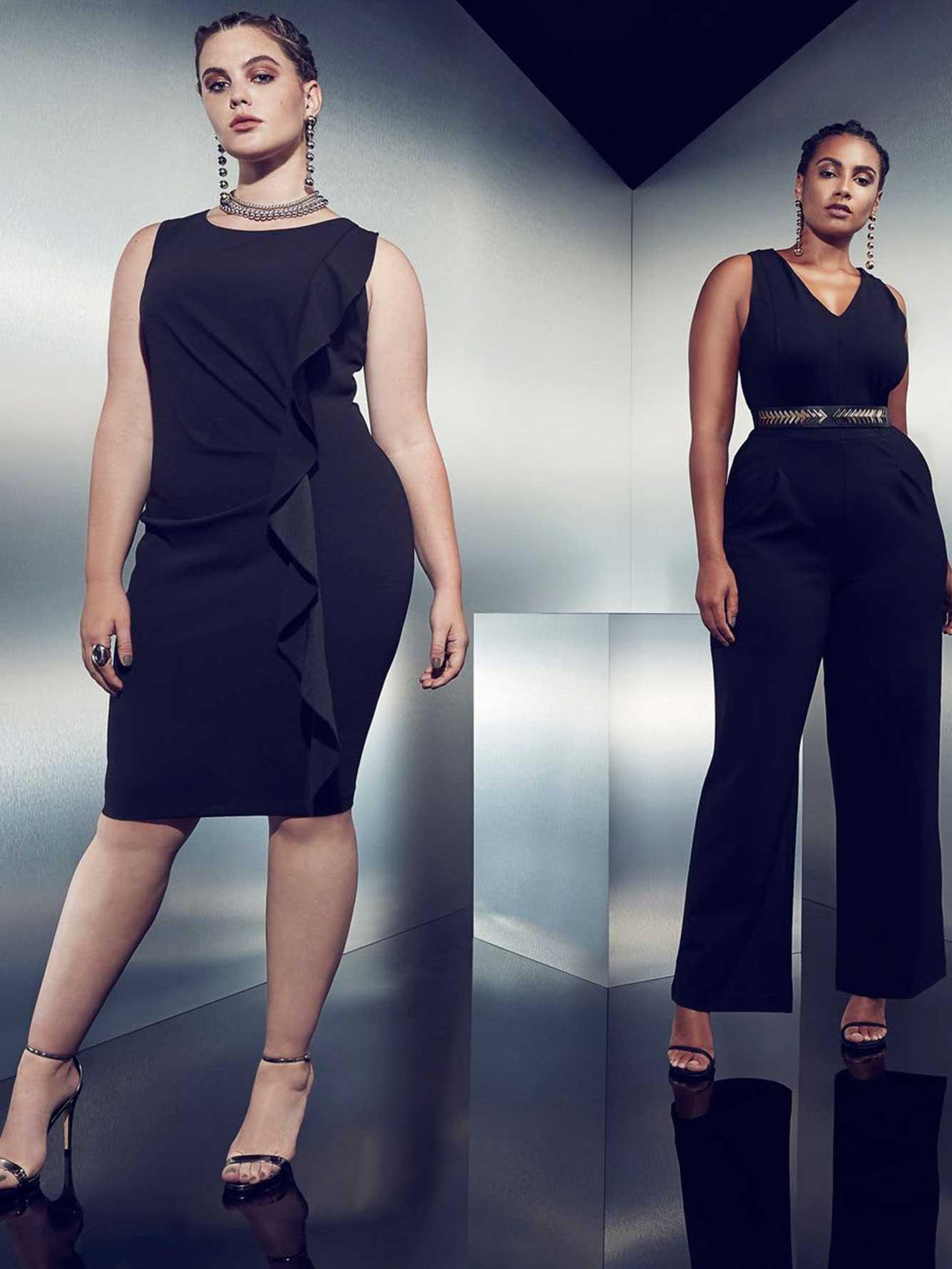 a88014906f0 Michel Studio Sleeveless Wide Leg Jumpsuit