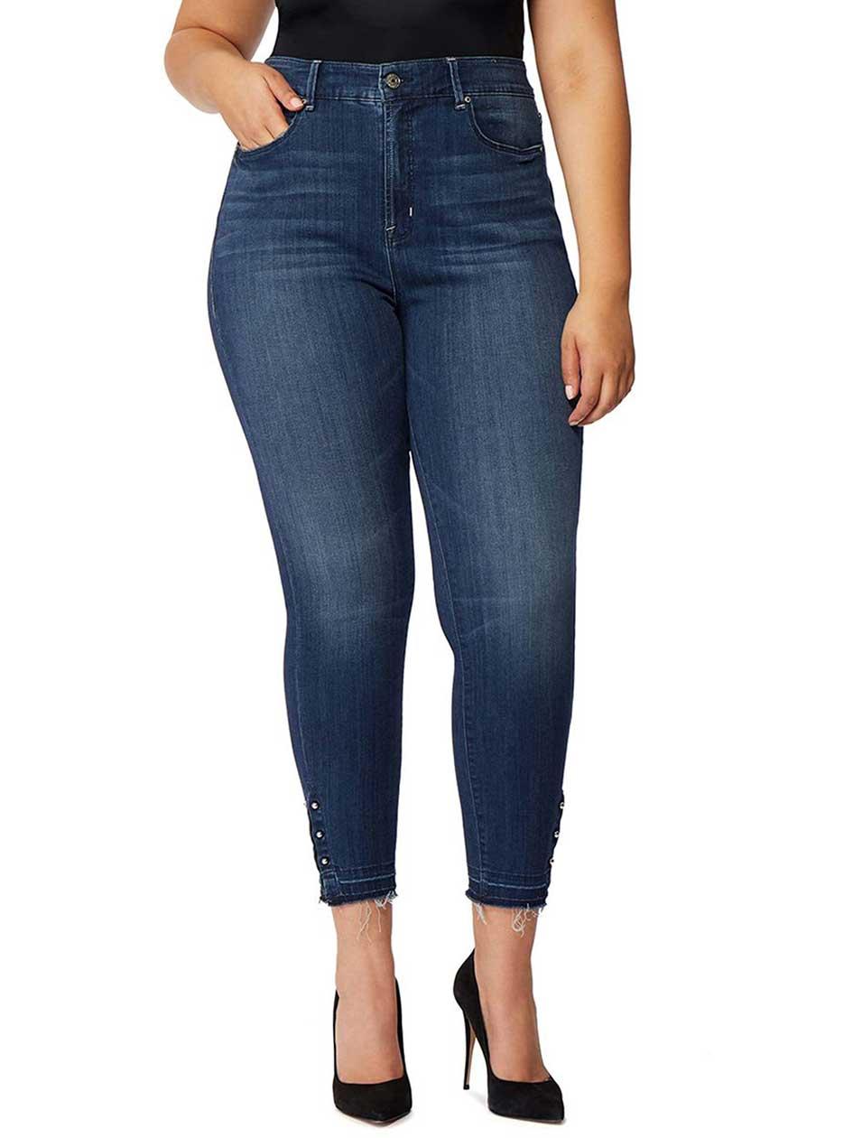 Rebel Wilson Vamp Crop High Rise Skinny Jean