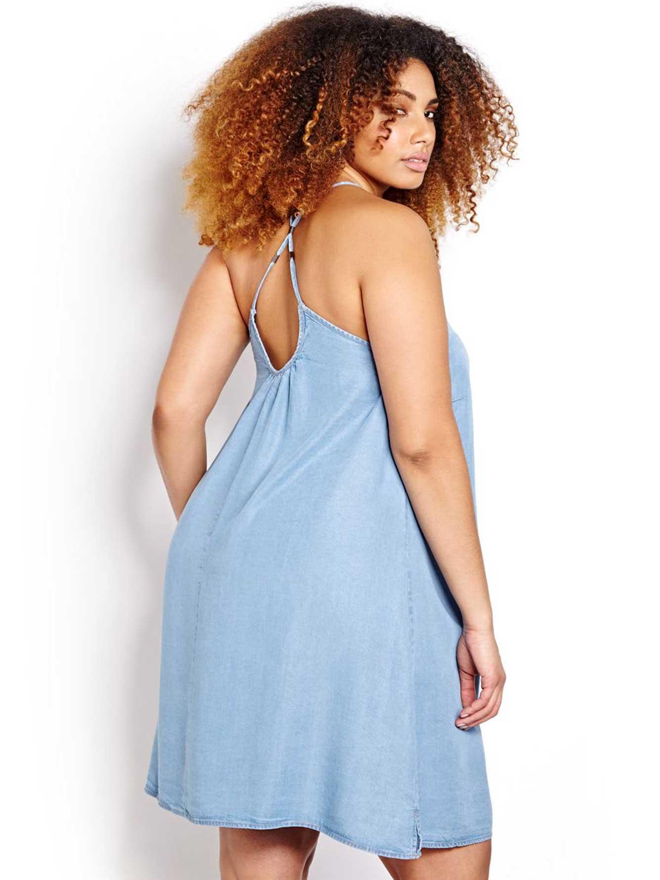 9e359e33f066 L&L Tencel Slip Dress | Addition Elle