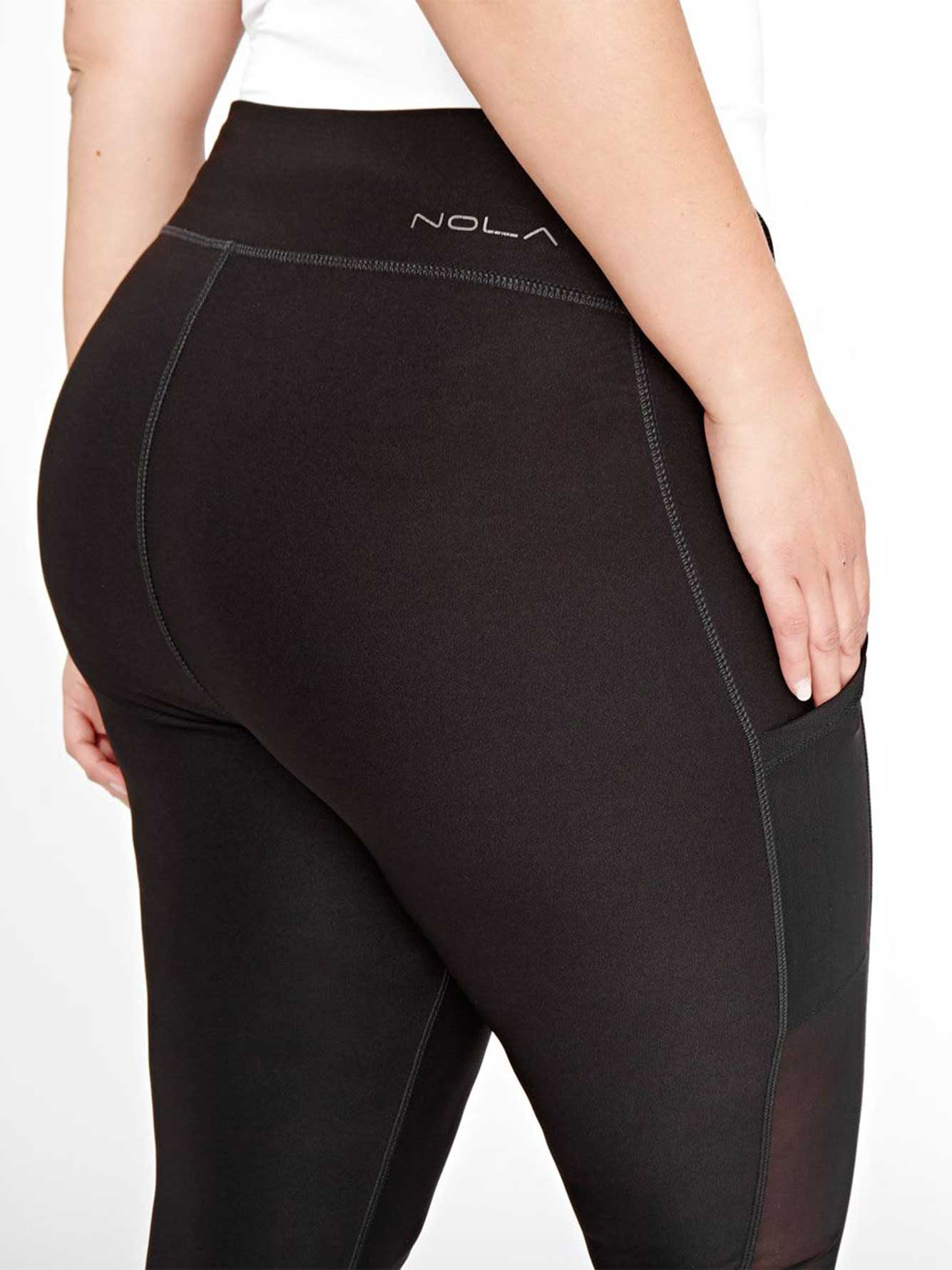 0601657e2b48ca Nola Legging with Mesh & Pockets | Addition Elle