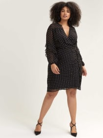 Val Flutter Sleeve Dress - RACHEL Rachel Roy