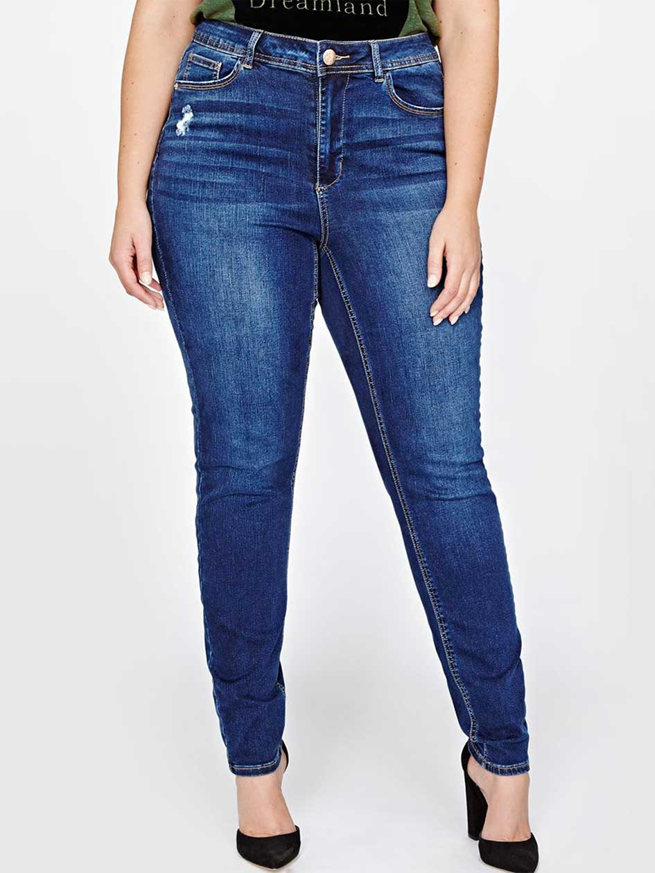 L&L Tall Authentic Skinny Jeans