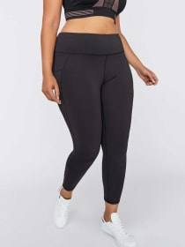 Legging with Side Pockets and Bottom Ruching - Nola