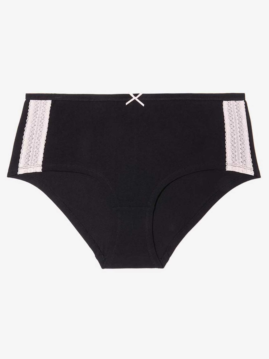 Boxer Panty with Lace
