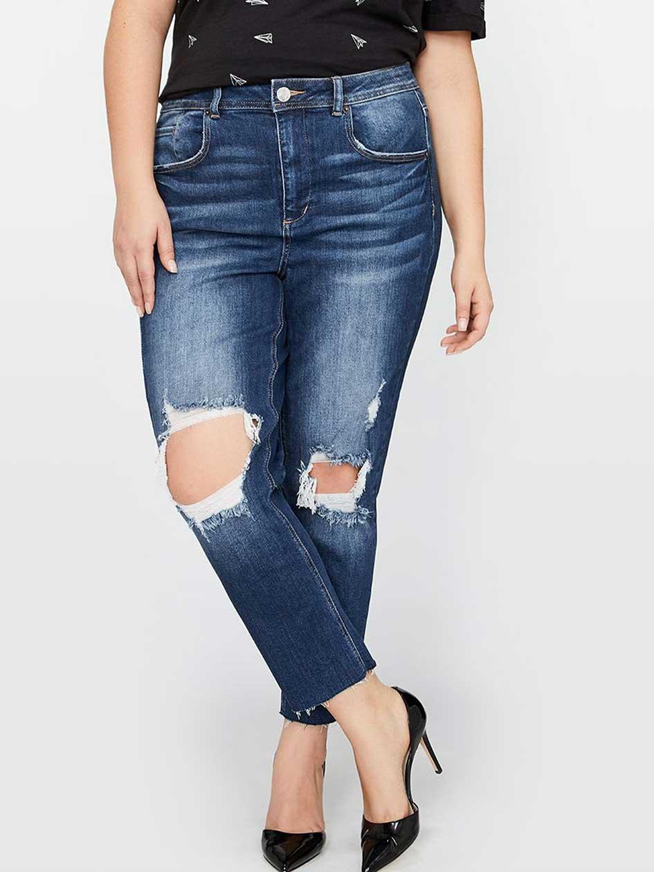 L&L Knee Rip Slim Jean