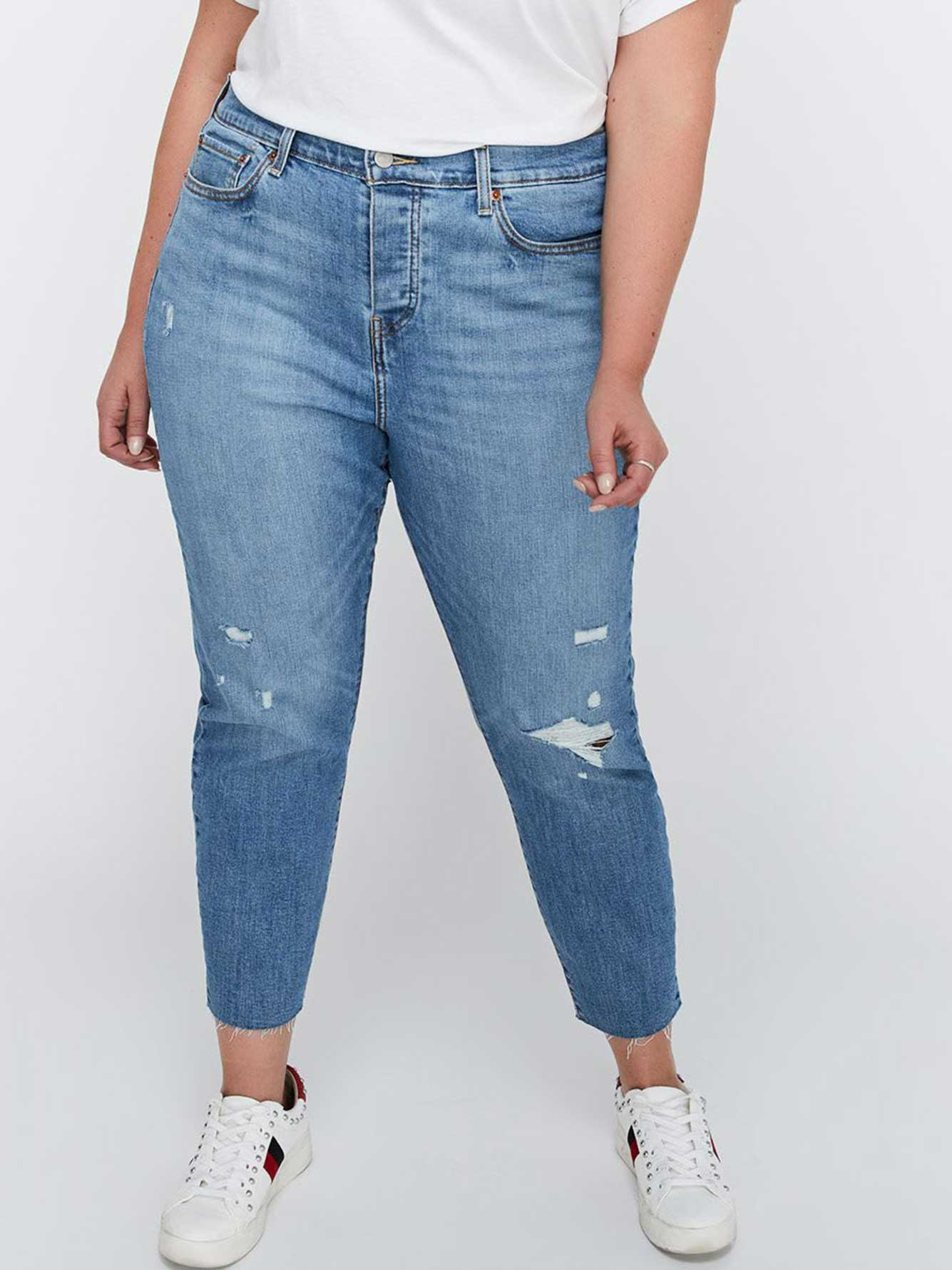 ce6a9f70cf Wedgie Blue Spice Skinny Jeans - Levi s