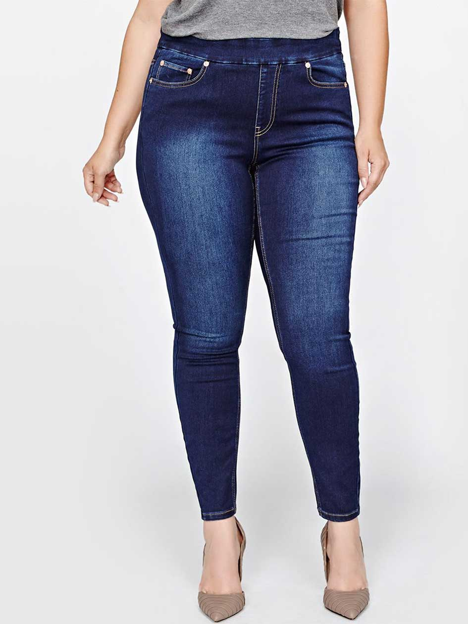 L&L Super Soft Pull On Jegging