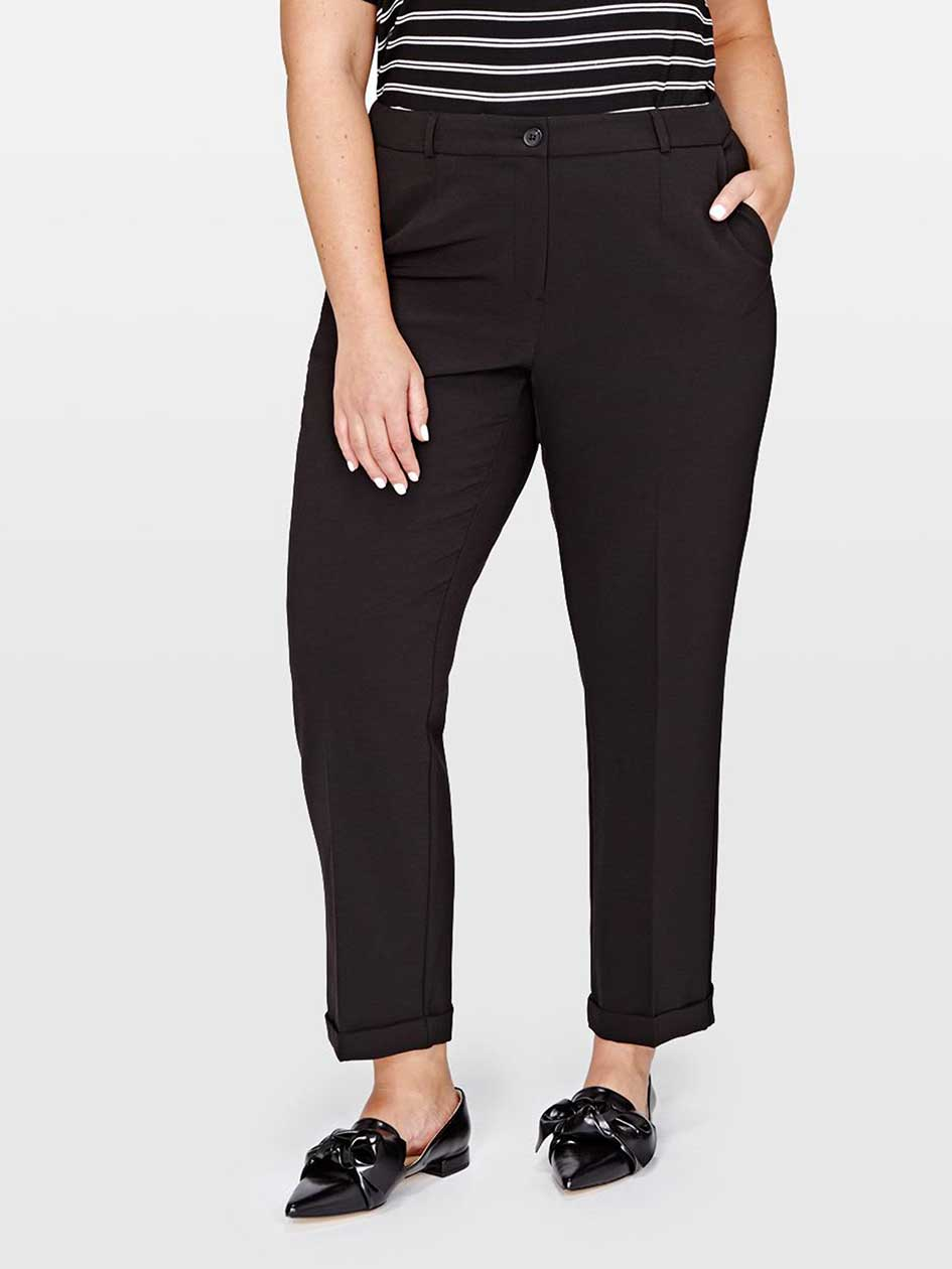 Michel Studio Rolled Cuff Ankle Pant