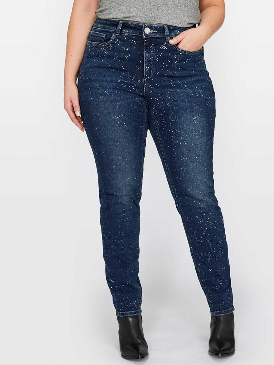 L&L Skinny Jean with Sparkling Details
