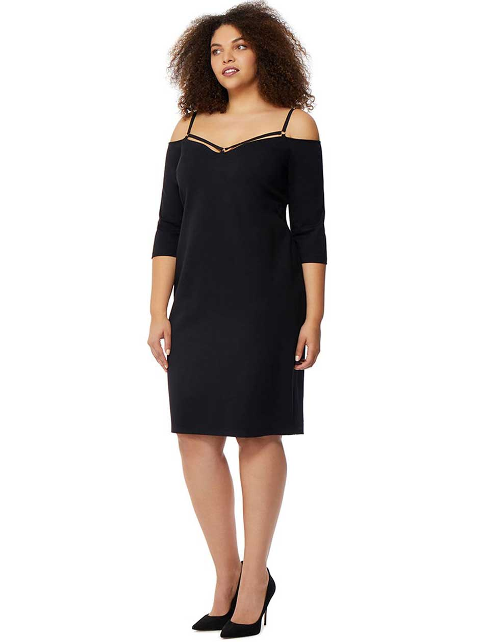 Rebel Wilson Off the Shoulder Bodycon Dress