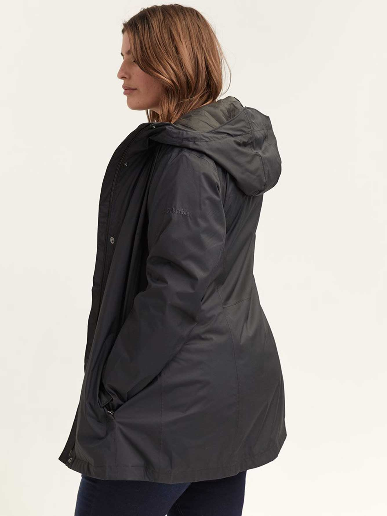 Columbia Splash-a-Little Black Rain Jacket