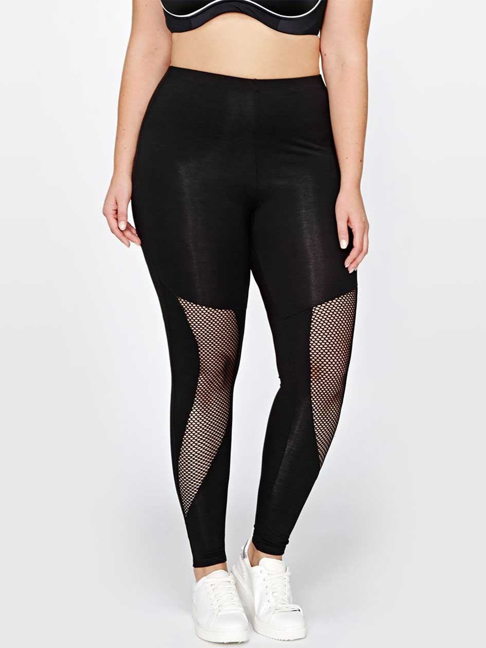 Active Fishnet Tights