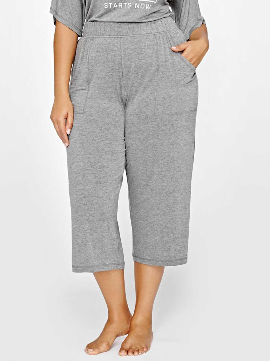 Capri PJ pant with pockets