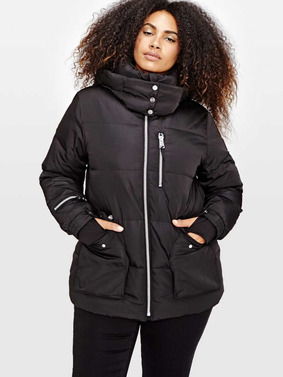 Livik Hooded Cropped Puffer Jacket