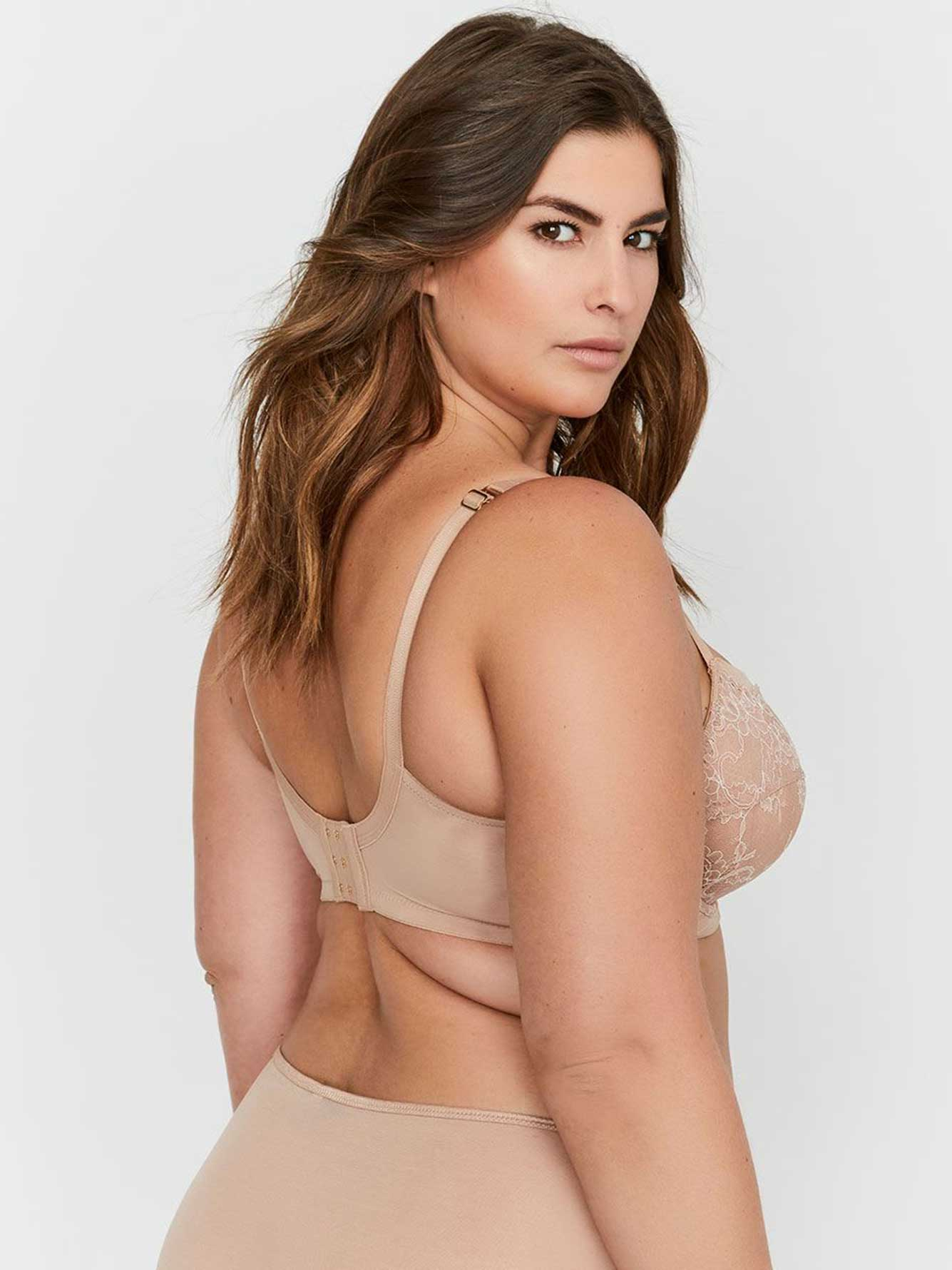 d296654832 Ashley Graham Seamed Fatal Attraction Unlined Bra, Sizes G & H ...