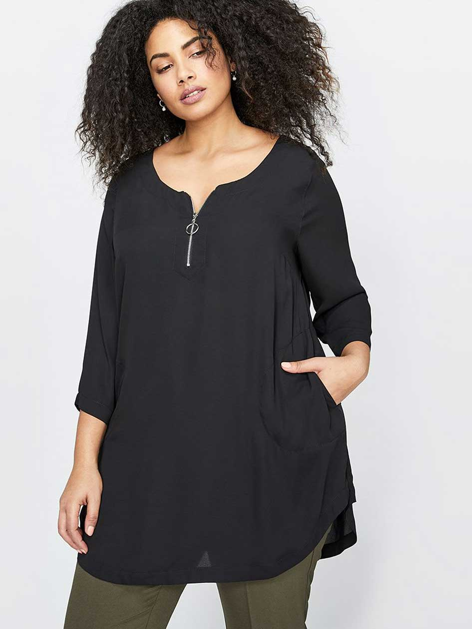 Michel Studio Zipped Tunic