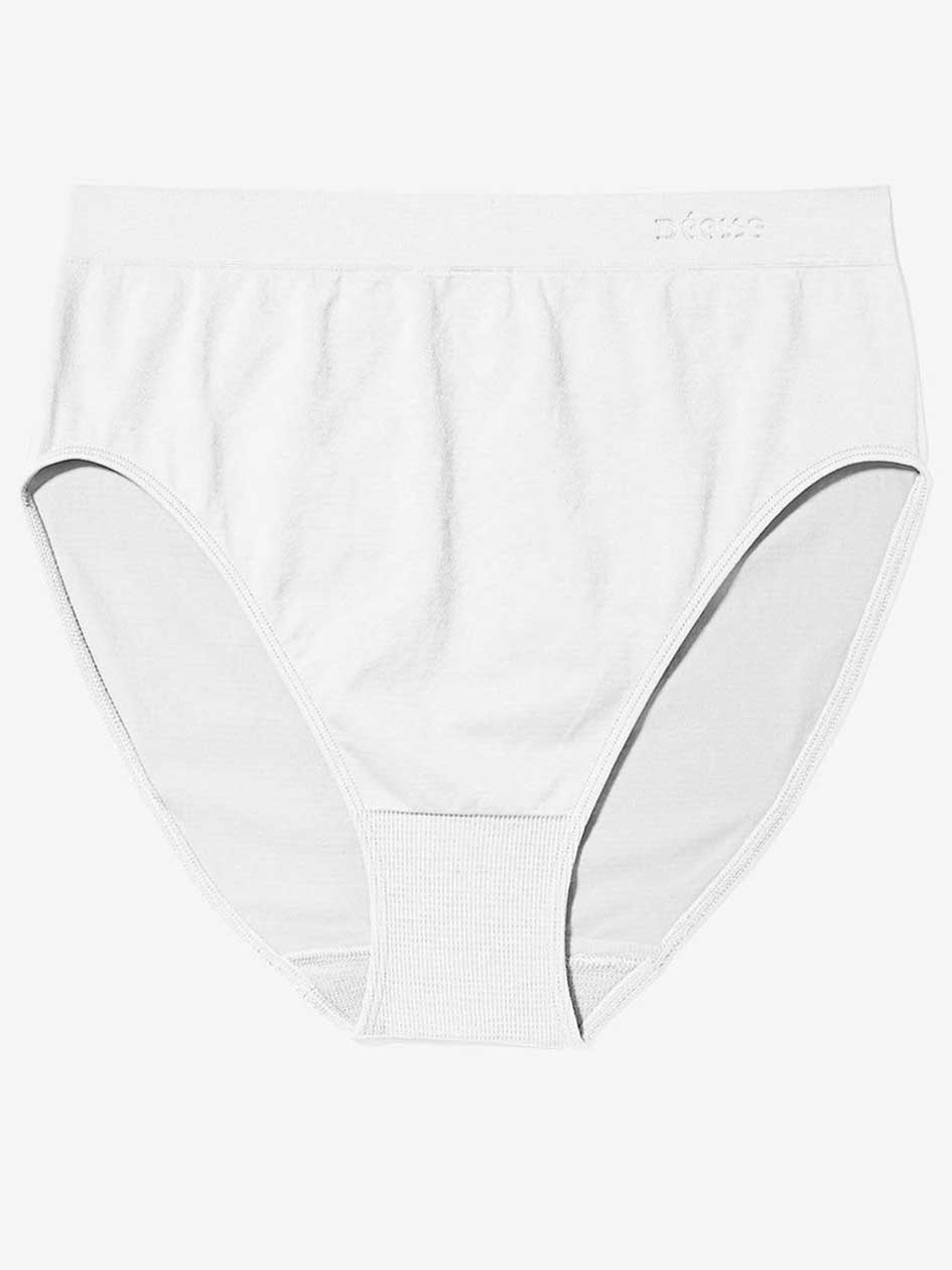 Seamless Full Brief High Cut Panty - Déesse Collection