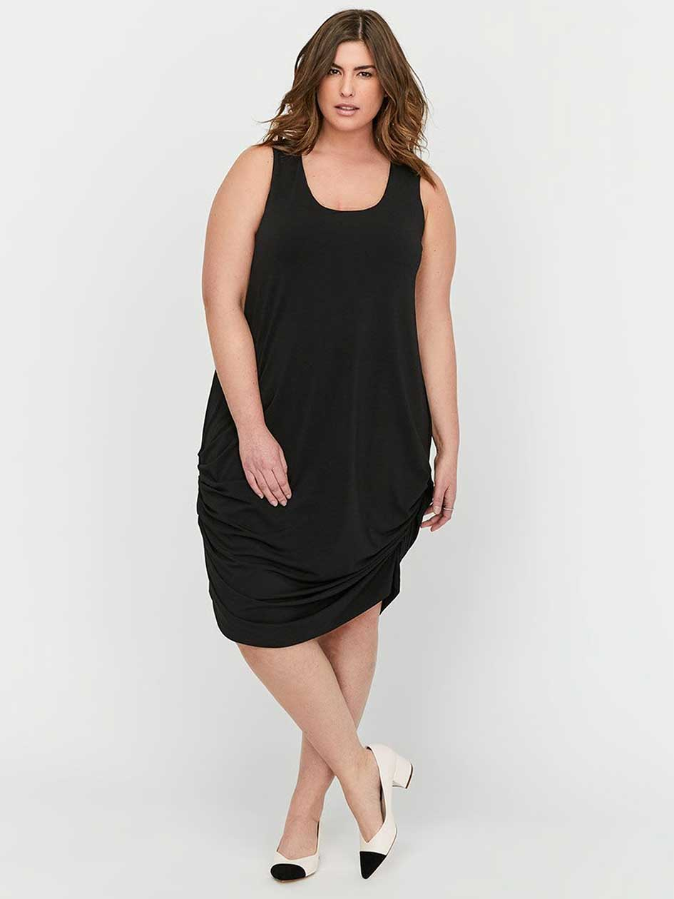 Rachel Roy Tie-in-the-Back and Ruched Sides Dress