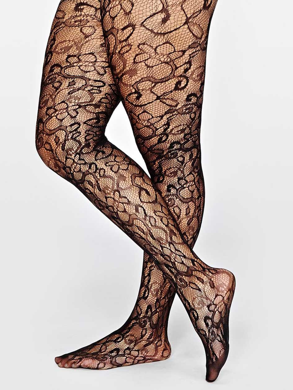 Floral Fishnet